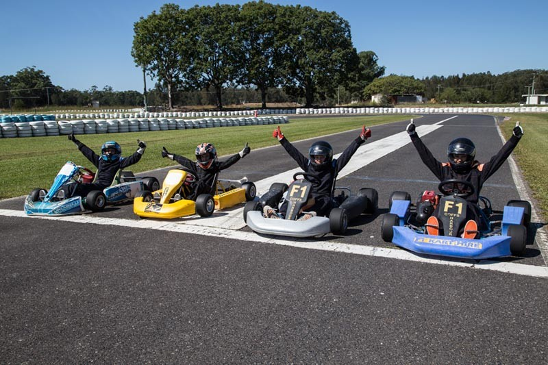 Go-Cart Finishing Line